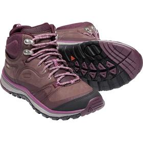 Keen Terradora Leather WP - Calzado Mujer - rosa/violeta